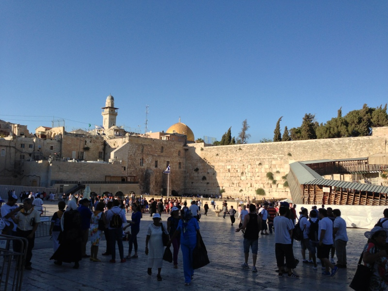 The Western Wall and Dome of the Rock